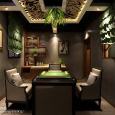 顶级新中式客厅设计装潢