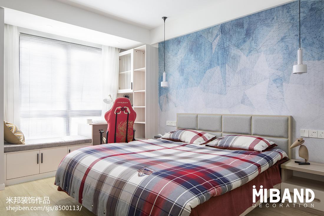 温馨29平北欧小户型卧室设计案例