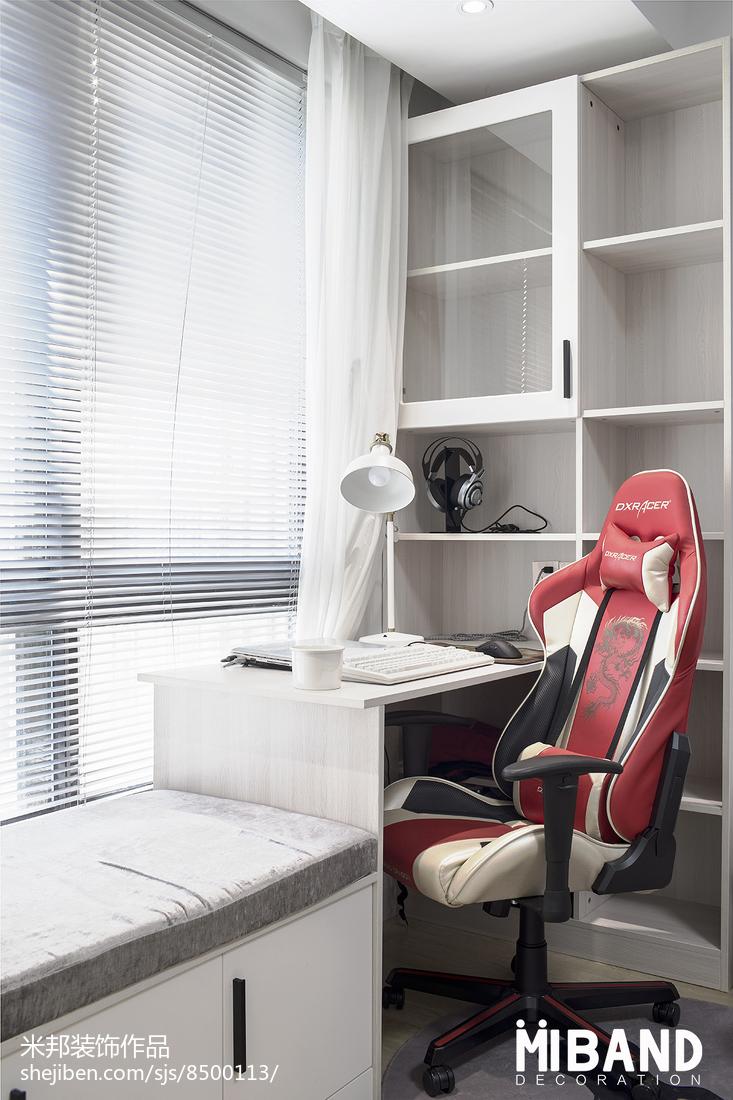浪漫34平北欧小户型卧室装修案例