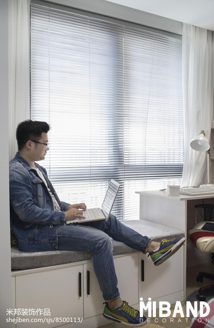 201929平北欧小户型卧室装饰美图