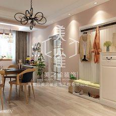 精选99平米三居餐厅现代装修效果图片