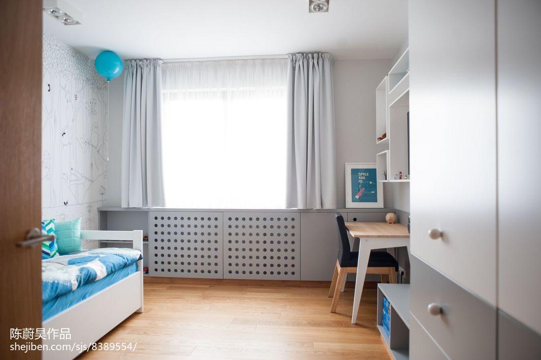 简约风格公寓厨房家装设计效果图