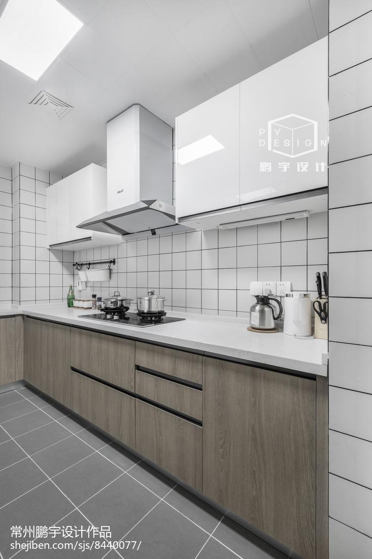2018精选78平米二居厨房欧式装修实景图片大全