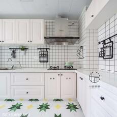 2018精选三居厨房北欧装修实景图片大全
