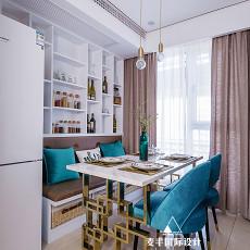 精美108平米三居餐厅现代装修图片