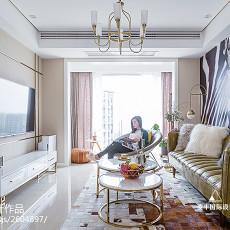 201893平方三居客厅现代效果图片欣赏