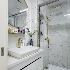 精选90平米三居卫生间现代实景图片欣赏