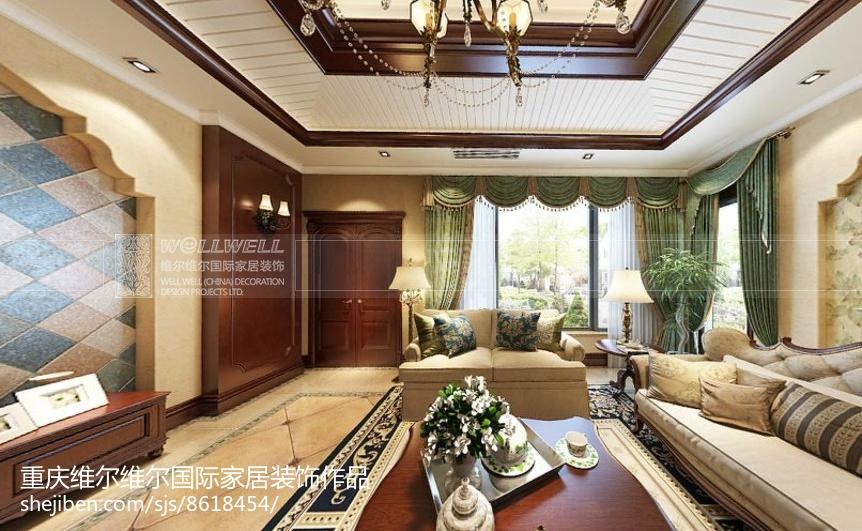 中式简洁雅致卧室装修效果图