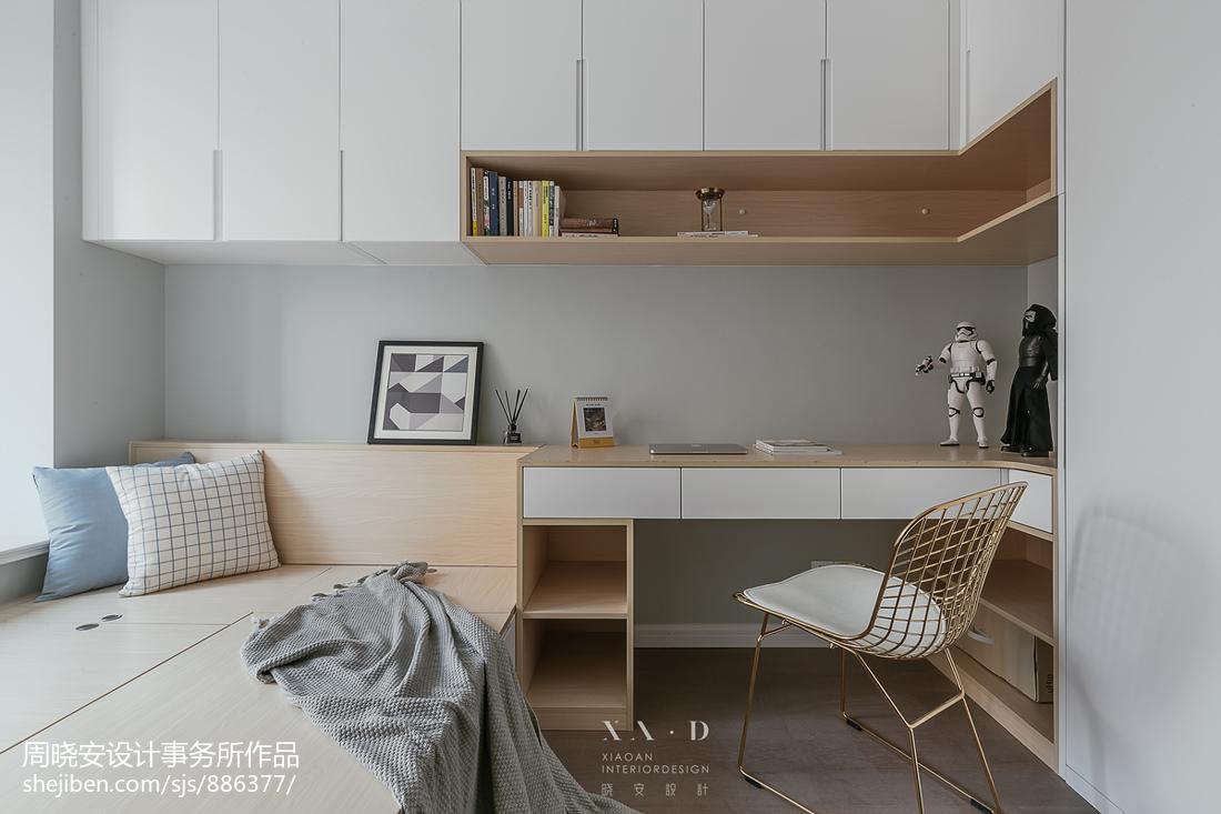 2019115平北欧三居儿童房装修效果图