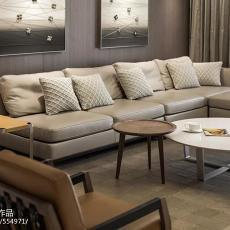 精美139平米四居客厅现代装修实景图片