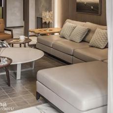 精选面积133平现代四居客厅装修欣赏图片大全