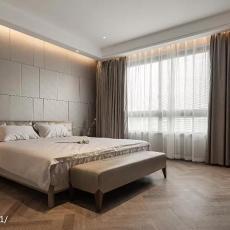 面积124平现代四居卧室装修欣赏图片大全