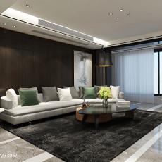 精美大小107平现代三居客厅装修图片大全