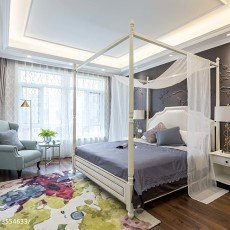 温馨115平现代四居卧室装饰美图