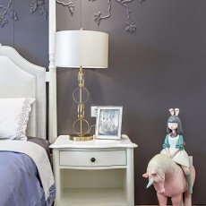 温馨110平现代四居卧室实拍图