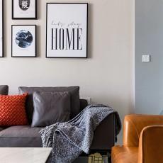 精美101平米三居客厅现代实景图片大全