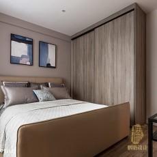 109平米三居卧室现代装饰图片大全
