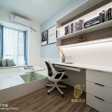精选108平米三居书房现代装修设计效果图片欣赏