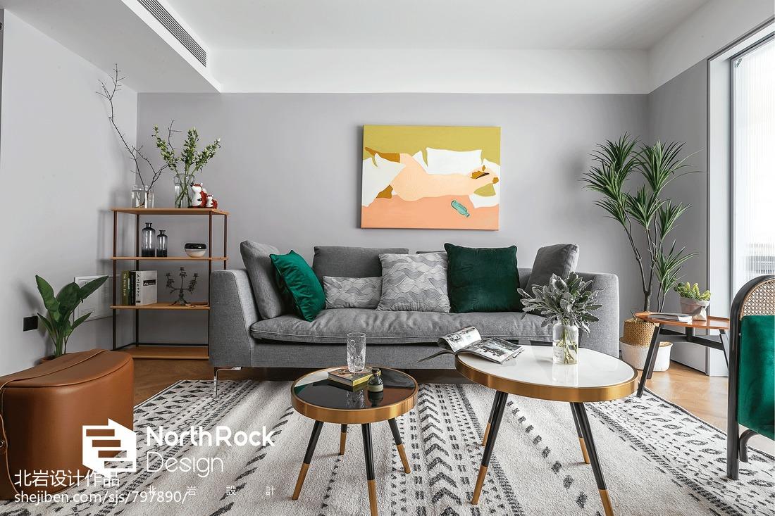 精致129平北欧三居装修装饰图