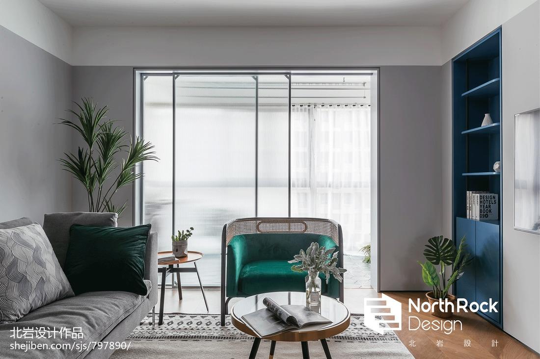 2019101平北欧三居客厅图片欣赏