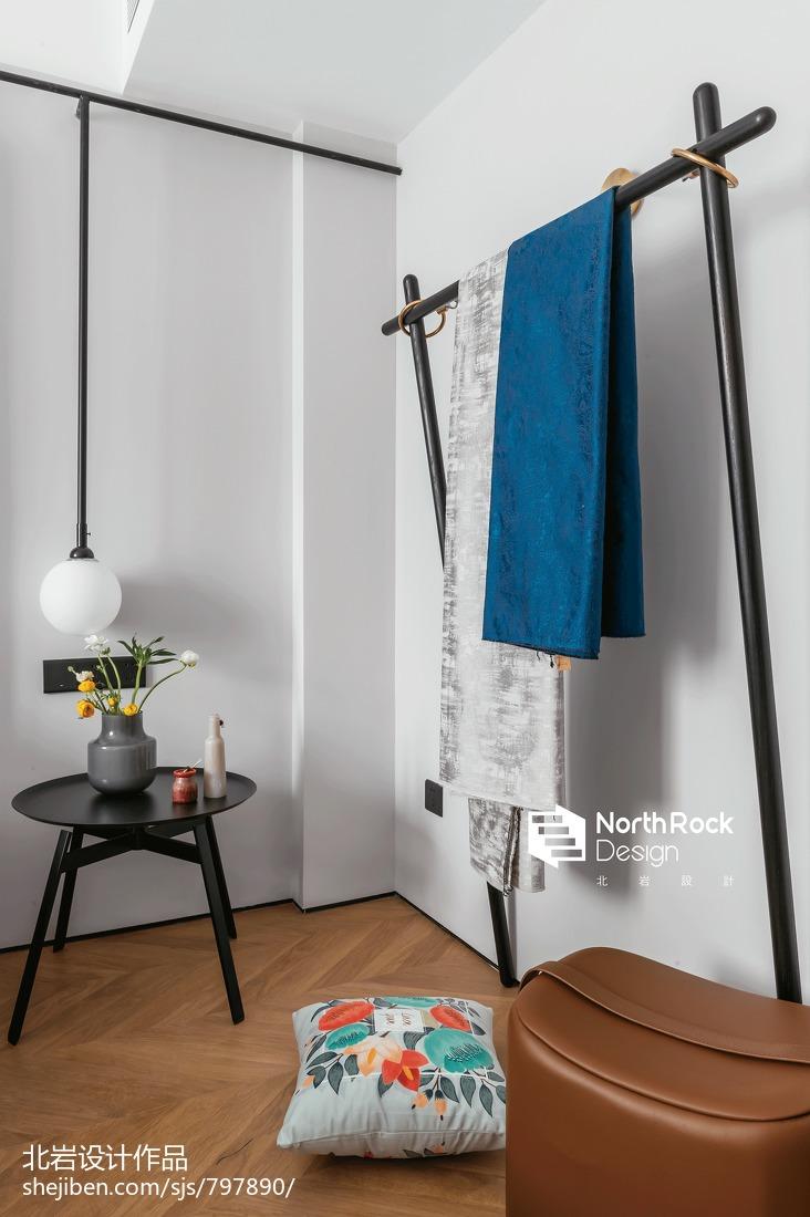 典雅111平北欧三居卧室实拍图
