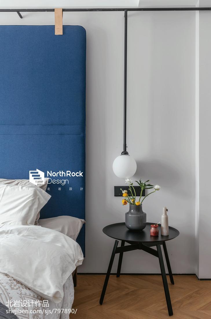 恬静北欧风卧室吊灯设计