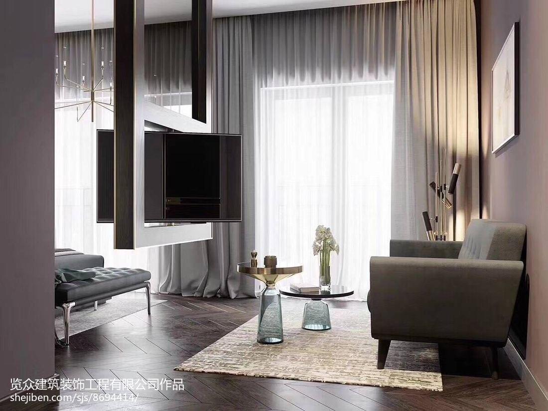 热门面积108平三居客厅装修欣赏图