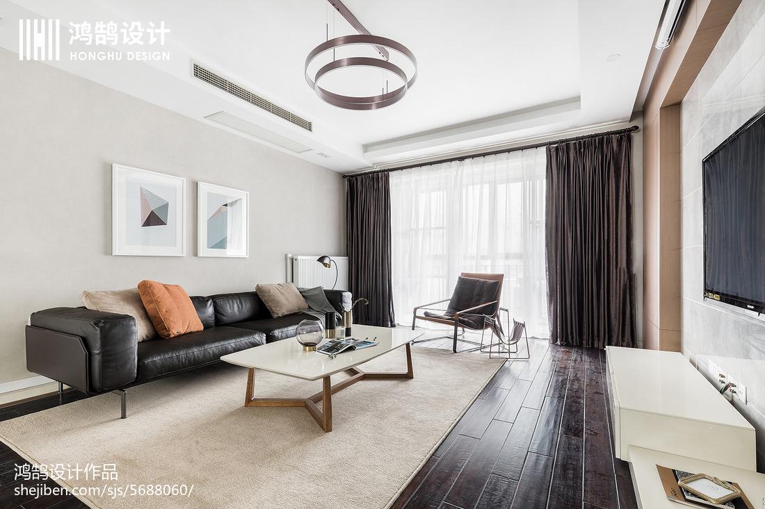 201896平米三居客厅简约装修欣赏图