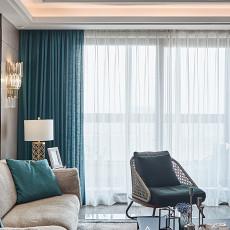 2018面积91平现代三居客厅装修图片