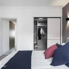 轻奢72平现代二居卧室效果图欣赏