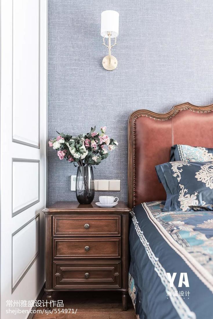精致88平美式三居卧室装饰美图