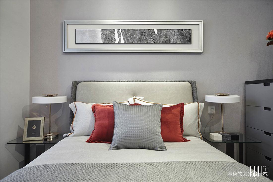 东莞众筑中央园著样板房卧室设计图