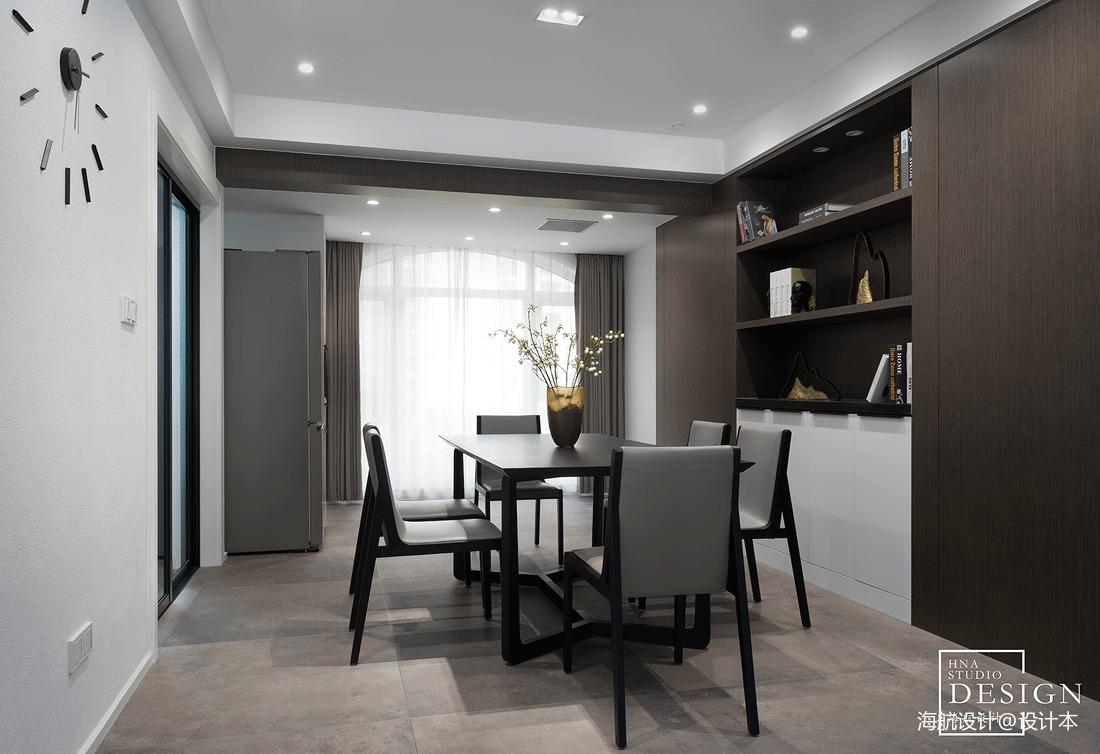 黑白極簡餐廳設計