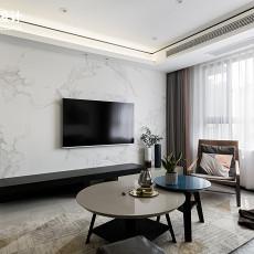 2018107平方三居客厅现代装修设计效果图