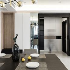 热门面积100平现代三居餐厅装修设计效果图片