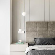 精美面积97平现代三居卧室装饰图片