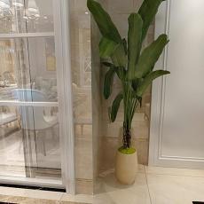 精选面积103平简欧三居客厅装修设计效果图片大全