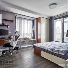 华丽78平现代二居卧室效果图欣赏