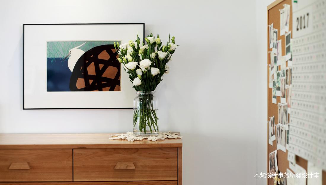 简洁60平简约二居客厅装修装饰图