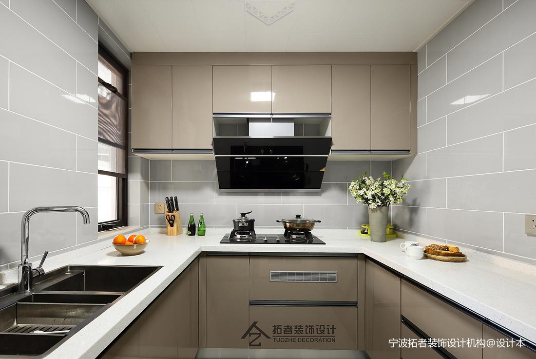 质朴53平北欧二居厨房图片欣赏