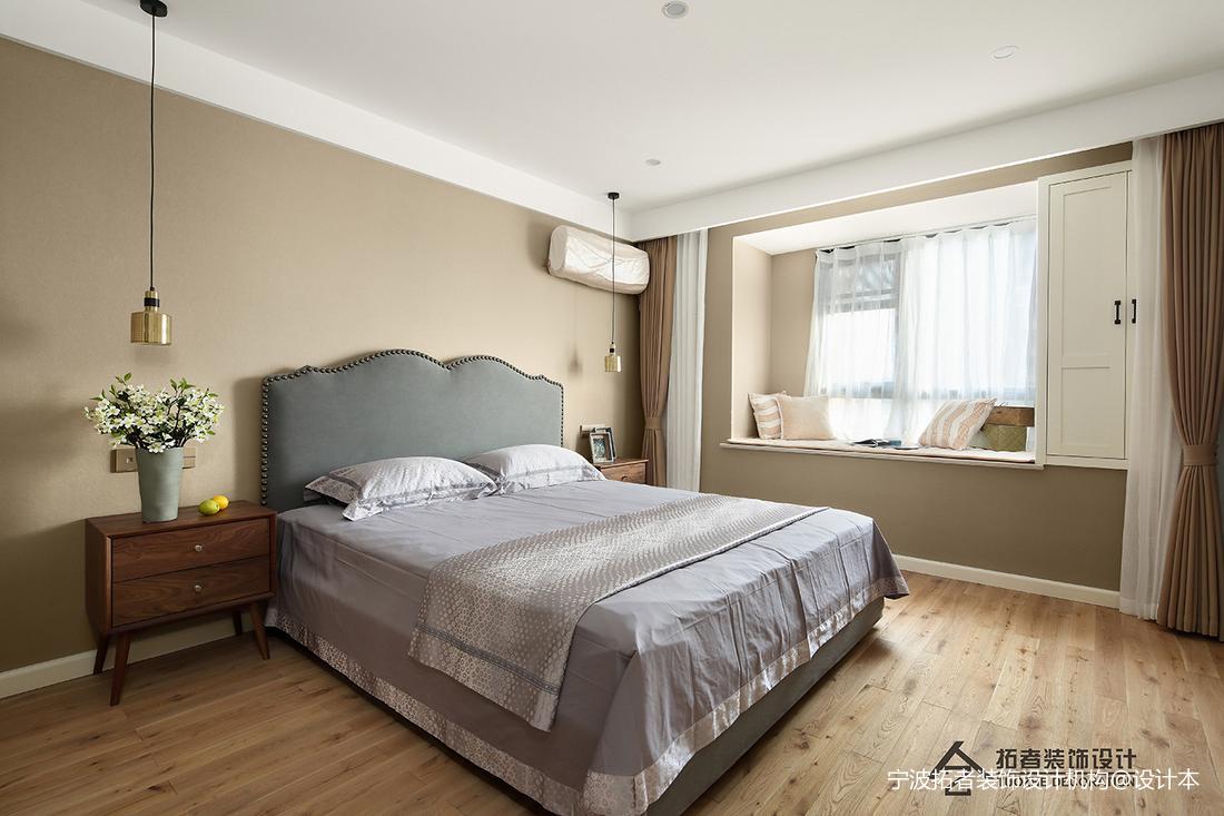 优美59平北欧二居卧室装修案例