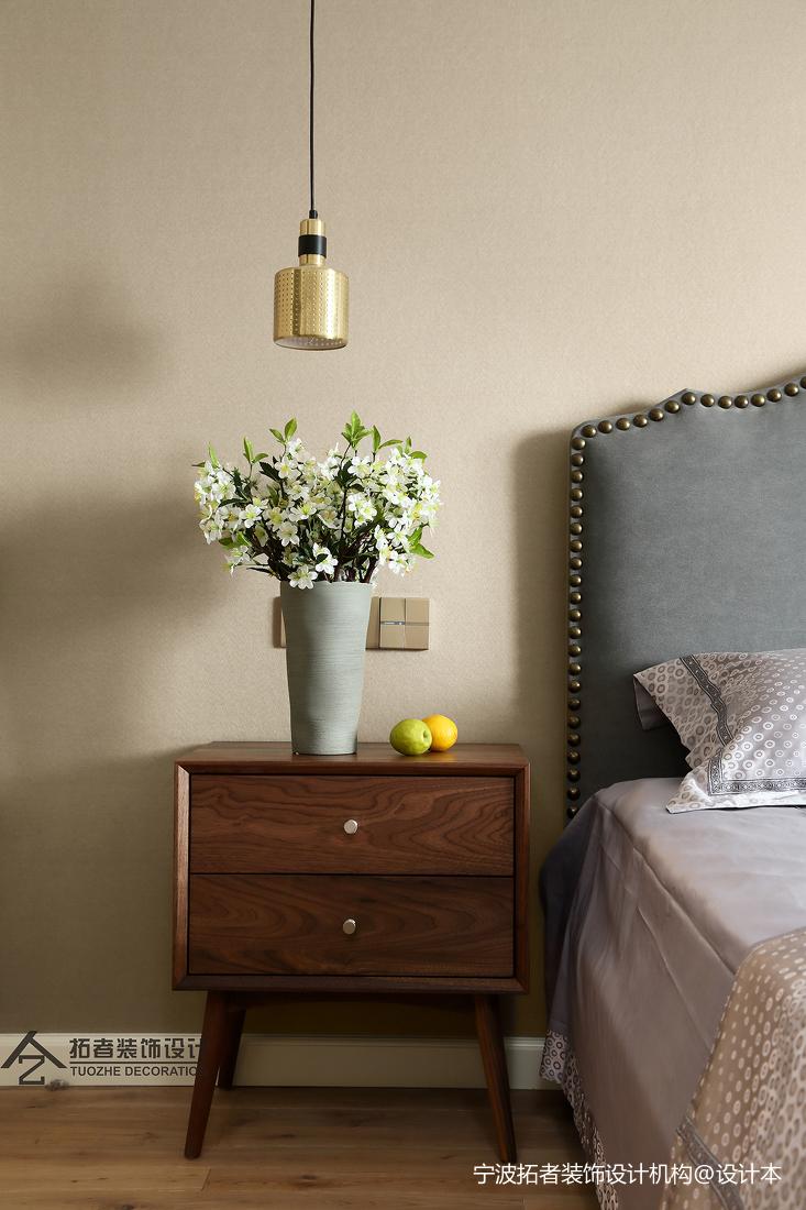 质朴82平北欧二居卧室效果图