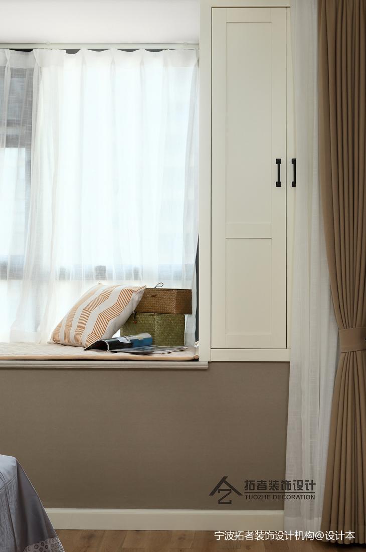 优美85平北欧二居卧室图片大全