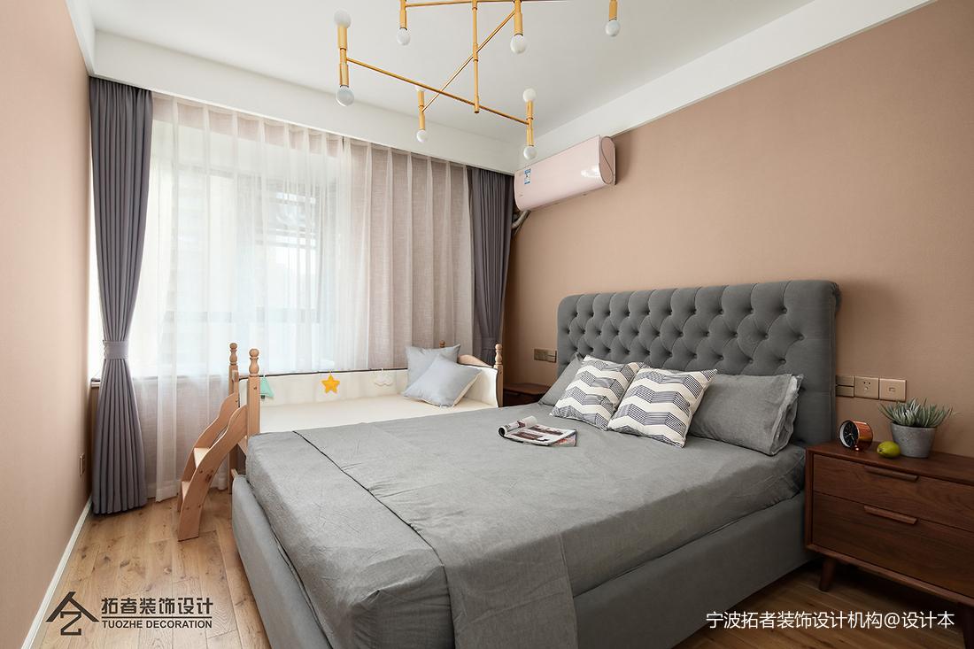 浪漫57平北欧二居卧室装修设计图