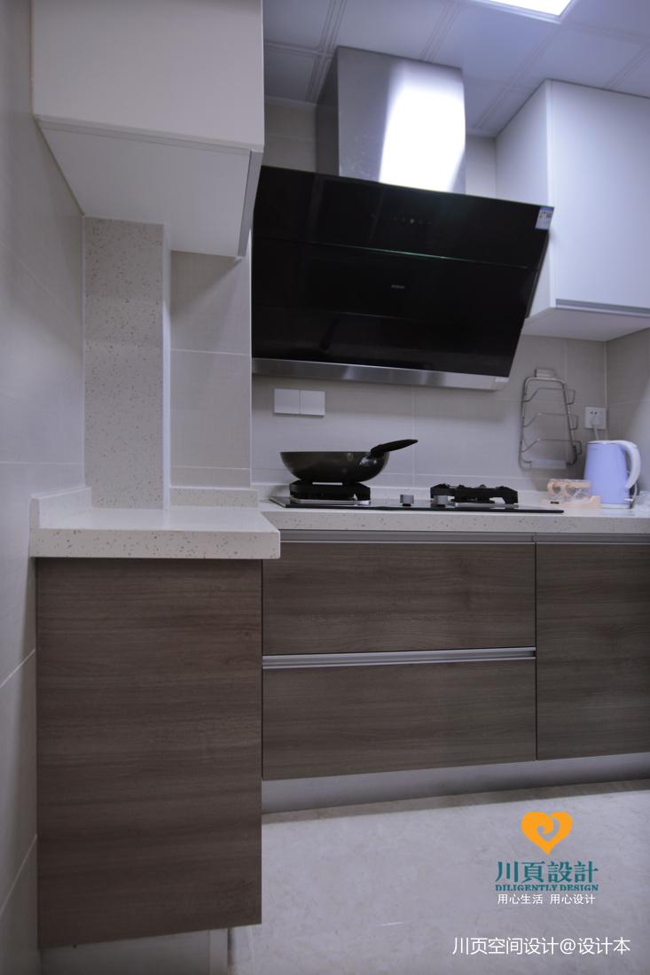 北歐宜家風廚房設計