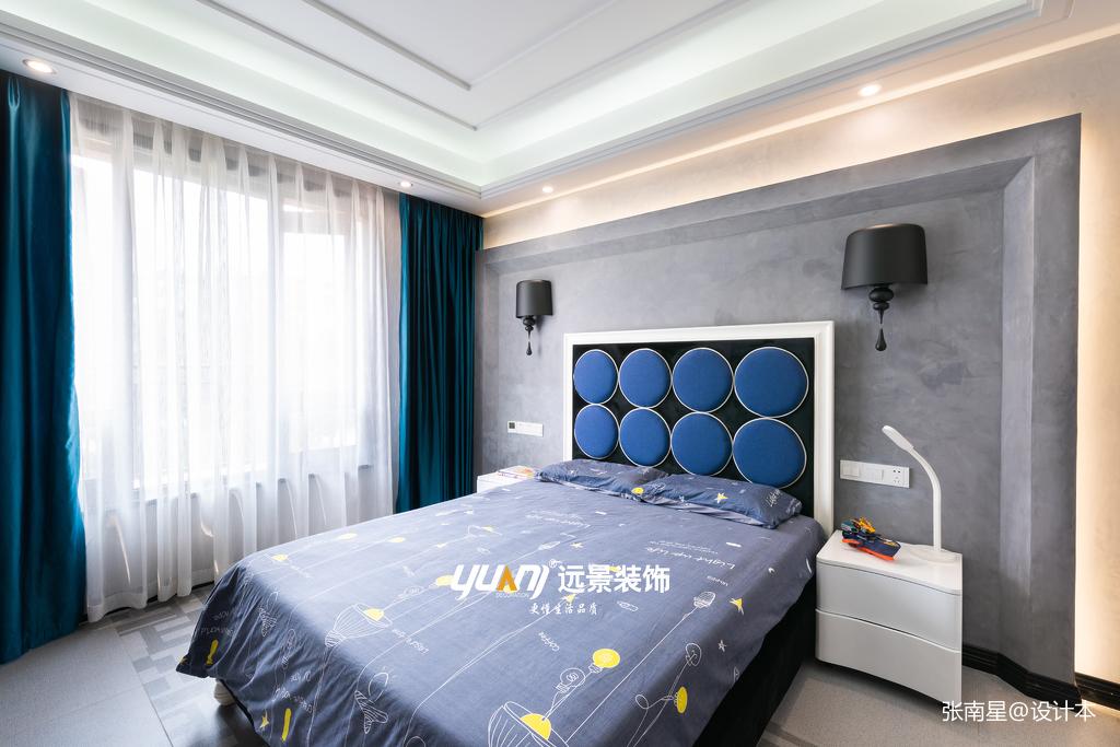 温馨625平混搭别墅卧室设计图