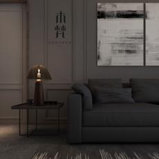 2018精选大小73平现代二居客厅装修实景图片大全