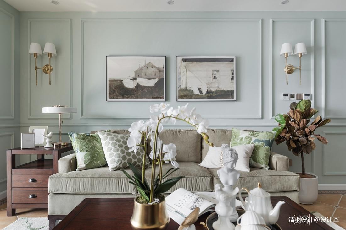 精美112平混搭三居客厅设计美图