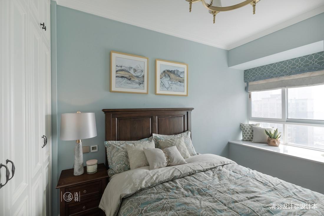 精致90平混搭三居卧室装修案例