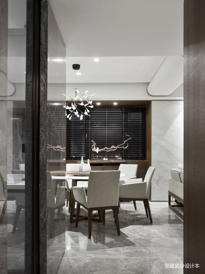 精美82平中式二居餐厅装修案例